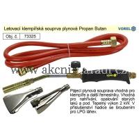 Letovací klempířská souprava plynová Propan Butan 73325