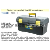 VOREL Kufr plastový 22palců Classic Basic 78803, TO-78803