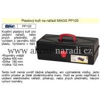 MAGG Kufr plastový na nářadí PP120 400x180x132mm PP120