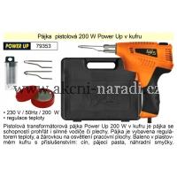 Pájka pistolová 200 W v kufru, Power Up TO-79353, 79353