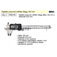 MAGG Posuvné měřítko digitální 150mm, MAGG PMD150, NA DOTAZ