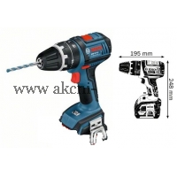 bosch aku příklepový šroubovák, bosch GSB 18 V-LI Professional 060186710E, POUZE STROJ