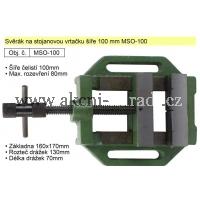 Svěrák na stojanovou vrtačku šíře 100 mm MSO-100