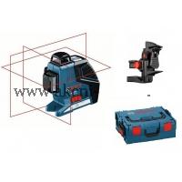 BOSCH křížový laser Bosch GLL 3 80 P Professional a držák BM 1 a L Boxx 136 0601063309
