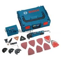aku multifunkční nástroj, oscilační bruska, Multi-Cutter, bosch GOP 250 CE 0601230001, L-Boxx