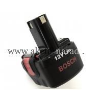 originální náhradní aku baterie 12V 1,5Ah NiCD, bosch 2607335709