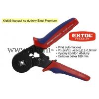 lisovací kleště na dutinky, čtyřhranné, délka 175mm, EXTOL PREMIUM 8831132