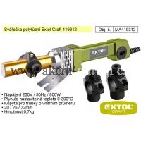 polyfůzní svářečka plastových trubek, Extol Craft 419312