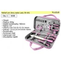 sada nářadí pro ženy, 39 dílů, Lady EXTOL 6596