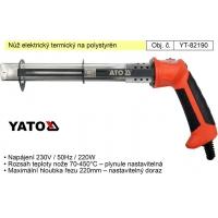 elektrický termický nůž, řezačka na polystyrén YATO YT-82190
