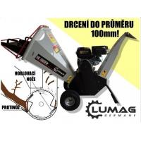 LUMAG HC 1000EW benzínový drtič dřeva štěpkovač ZDARMA DOPRAVA