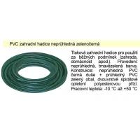 PVC Zahradní hadice neprůhledná zelenočerná 1