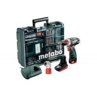 METABO PowerMaxx BS Quick Pro mobilní dílna 10,8V 4Ah+2Ah Li-Ion +SLUCHÁTKA BLUETOOTH obj.č. 600157880