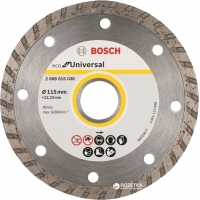 Diamantový řezací kotouč BOSCH Eco for Universal TURBO 115mm 2608615036