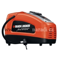 BLACK&DECKER Kompresor pumpička 12V i 230V ASI300