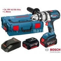bosch akumulátorový příklepový šroubovák, bosch GSB 18 VE-2-LI Professional, 06019D9300 L-Boxx