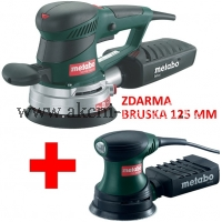 METABO Excentrická bruska SXE 450 TurbTec ZDARMA BRUSKA METABO 125MM