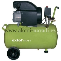 EXTOL Craft Kompresor 50l olejový 418210