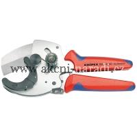 KNIPEX Kleště na řezání trubek, Pro vícevrstvé trubky a chráničky 902540