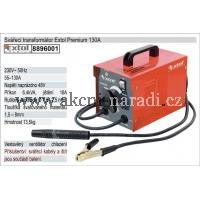 EXTOL PREMIUM Transformátorová svářečka ACW 140 A 8896001