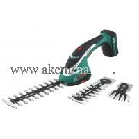 BOSCH Akumulátorové nůžky na keře a na trávu ASB 10,8 LI SET obj.č. 0600856301