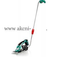 akumulátorové nůžky na trávu Bosch AGS 10,8 LI s Teleskopickou násadou 0600856101