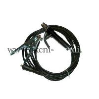 EXTOL Svařovací kabely s koncovkami 10-25A , 3m držák elektrod 200A, zemnící kleště.