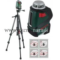 samonivelační křížový liniový laser bosch PLL 360 SET 0603663001, Stativ