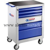 TONA Montážní vozík se šesti zásuvkami Tona Expert E010109T