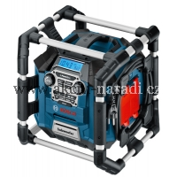bosch, akumulátorové rádio Powerbox, GML 20 Professional, 0601429700