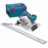BOSCH ruční okružní pila Bosch GKS 55 GCE Professional s FSN 1600 vodící lištou 0601664902