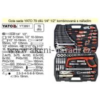 YATO Gola sada 79 dílů kombinovaná s nářadím YATO YT3891