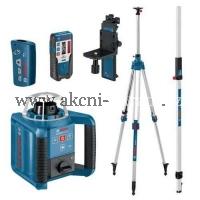 BOSCH GRL 300 HV Set Professional rotační samonivelační laser ZDARMA TRASOVACÍ TYČ A STATIV 061599403Y