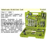 sada nářadí 59 dílů, EXTOL Craft 6582