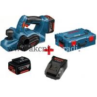 aku ruční hoblík 82mm, bosch GHO 14,4 V-LI Professional 06015a0401, L-Boxx